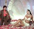 Zeenat Aman and Shahi Kapoor