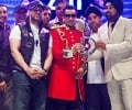 Jazzy B with BEST BAND award