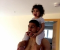 Amir Khan and daughter Lamaisah