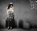 Designer Georgette Kurtis in Eternal Black