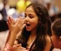 ভারতের বাচ্চাদের ফ্যাশন শো এসএস 16 ভোগ