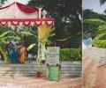 Indian couple holds eco friendly wedding