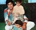 Amitabh Bachchan and Children