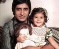 Amitabh Bachchan with Shweta