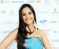 Actress Manrina Rekhi arrives at the Asian Business Awards 2014