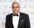 Millionaire and award winning entrepreneur Dr Rami Ranger  at launch of Asian Rich List & Asian Business Awards 2014