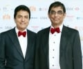 Millionaire brothers Vijay & Bhikhu Patel at the launch of the Asian Rich List & Asian Business Awards 2014