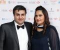 Millionaire entrepreneur Frank Khalid at launch of Asian Rich List & Asian Business Awards 2014