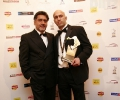 Barinder Singh (Outstanding Achievement Award) wiith James Caan