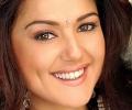 Preity with Bindi