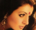 Amisha Patel with Bindi
