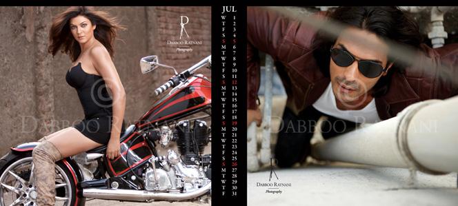 daboo ratnani calendar 2009