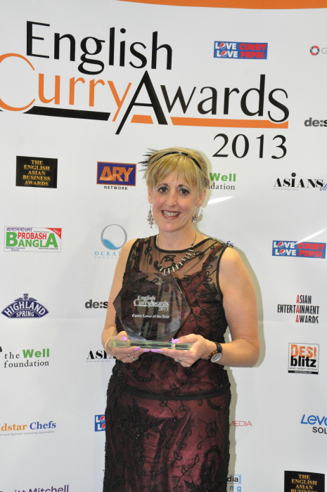 English Curry Awards 2013: Curry Lover of the Year