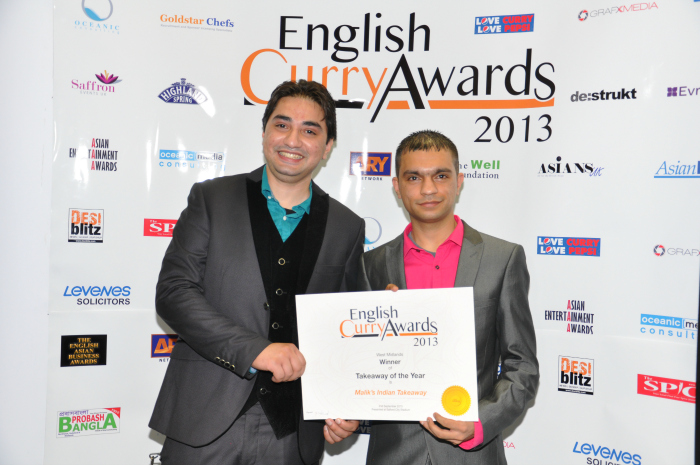 English Curry Awards 2013: Takeaway of the Year West Midlands
