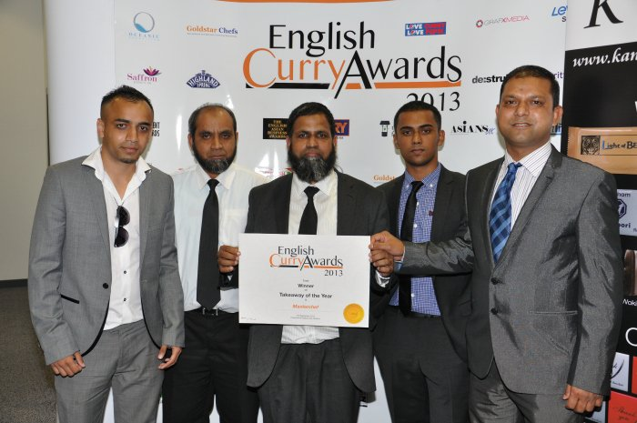 English Curry Awards 2013: Takeaway of the Year East