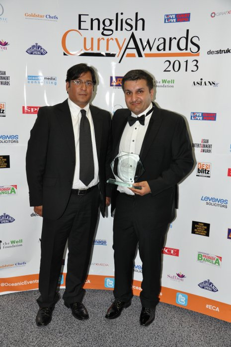 English Curry Awards 2013: Curry King 2013