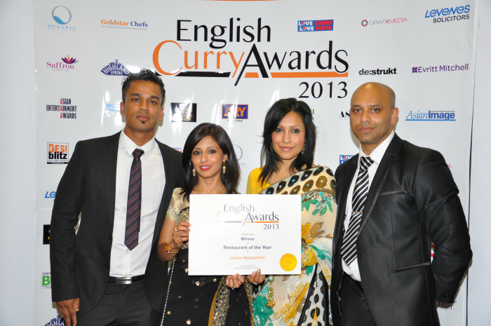 English Curry Awards 2013: Restuarant of the year North East