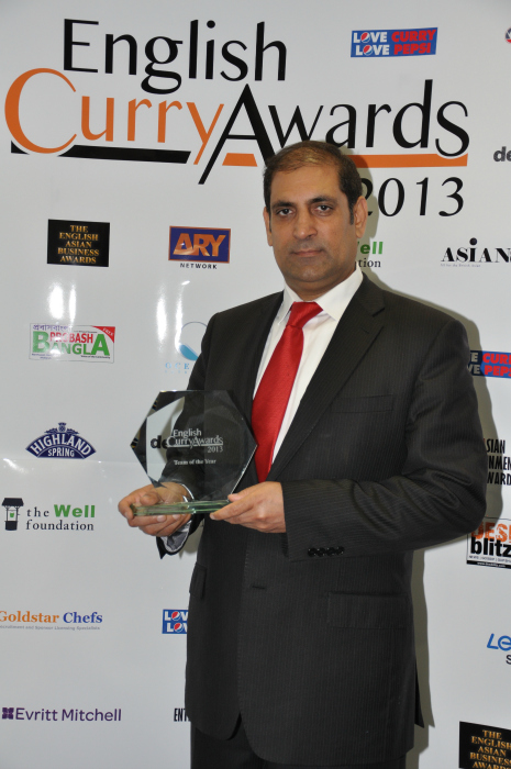 English Curry Awards 2013: Team of the Year