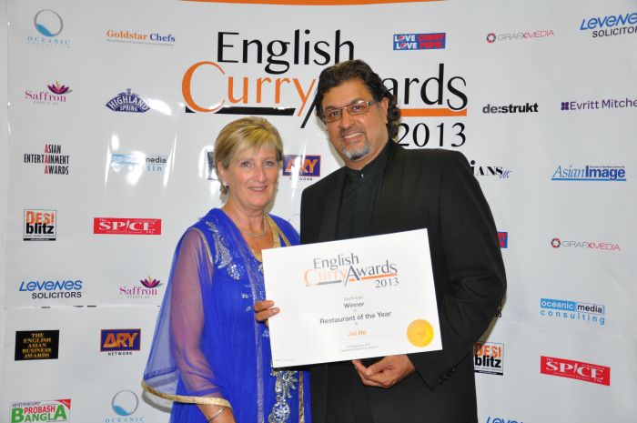 English Curry Awards 2013: Restuarant of the year South East
