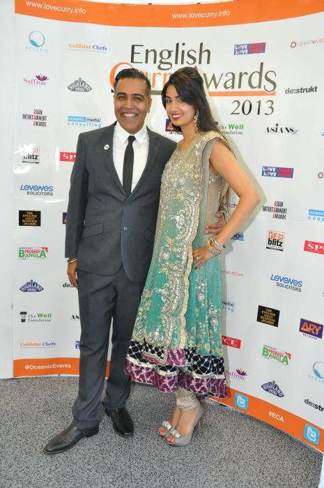 English Curry Awards 2013: Sunny and Shay