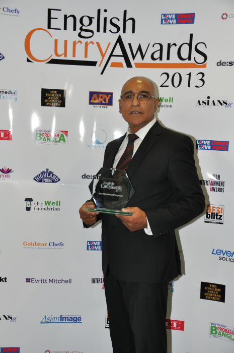 English Curry Awards 2013: Best Marketing Campaign