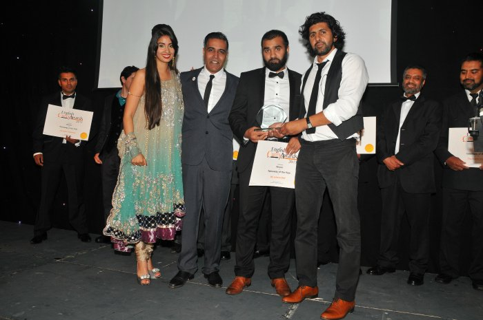 English Curry Awards 2013: Takeaway of the Year Yorkshire Overall