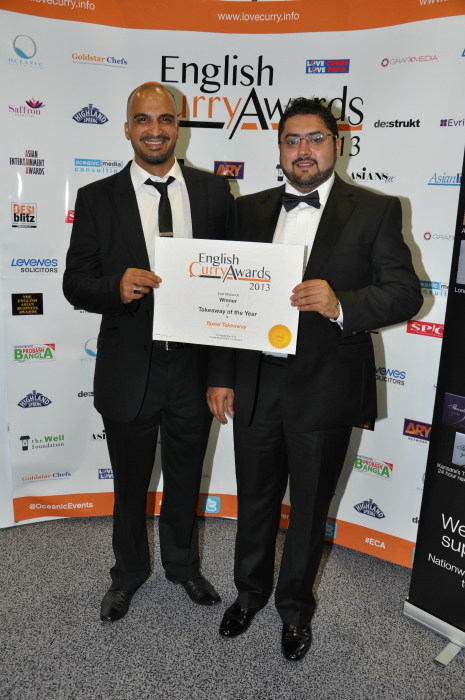 English Curry Awards 2013: Takeaway of the Year East Midlands