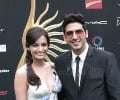 Dia Mirza and Zayed Khan @ IIFA Rocks
