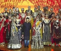 Vikram Phadnis's collection @ IIFA Rocks Fashion Show