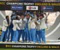 India v England ICC Trophy 2013 - Winners