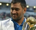 India v England ICC Trophy 2013 - MS Dhoni