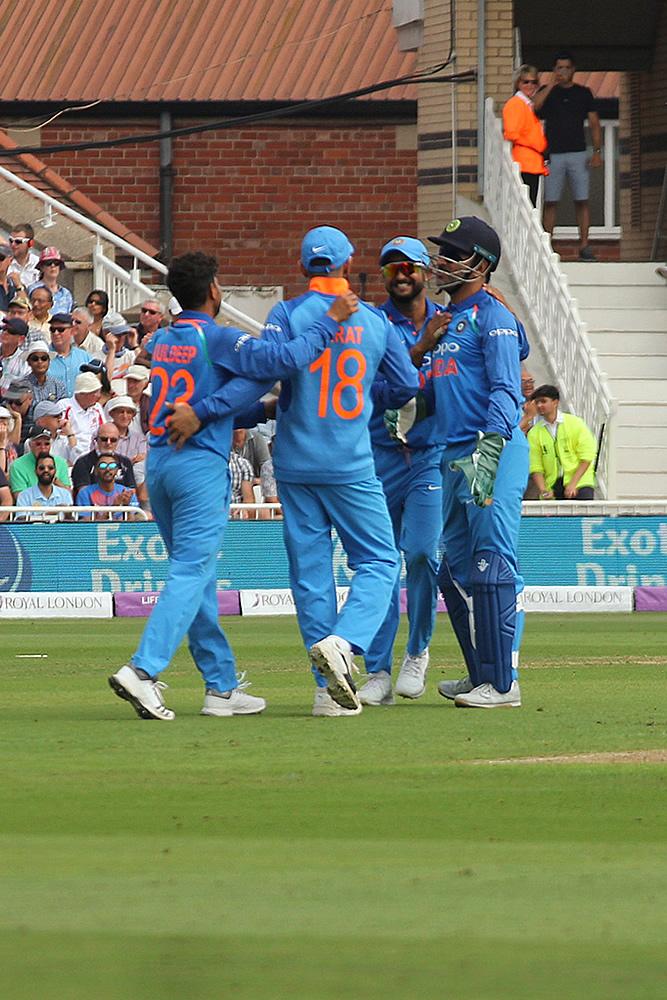 भारत v इंग्लैंड ODI 20