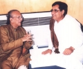 Jagjit Singh with Ravi Shankar