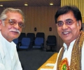 Jagjit Singh with Gulzar