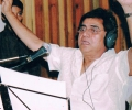 Jagjit conducts orchestra for film score