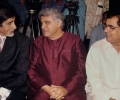 Jagjit Singh with Javed Akthar and Amitabh Bachchan