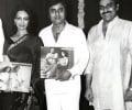 Jagjit & Chitra at album launch