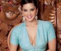 Sunny Leone in a Saree