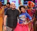 Designer Tarun Tahiliani and Showstopper Chitrangada Singh