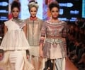 Models walk for Tarun Tahiliani