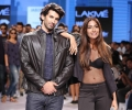 Show Stoppers Aditya Roy Kapur and Monica Dogra walk for Jabong presents Tom Tailor