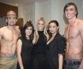 LFW Off Schedule Show 2012 - John Peter models with Sharon and Mahreen Hussain