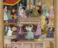 Baby Akbar recognises his Mother  © British Library Board