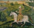 Allavardi Khan on horseback  © British Library