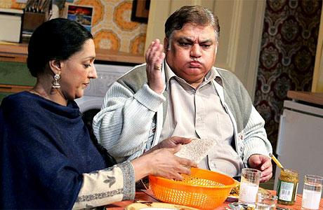 Meera Syal with Harish