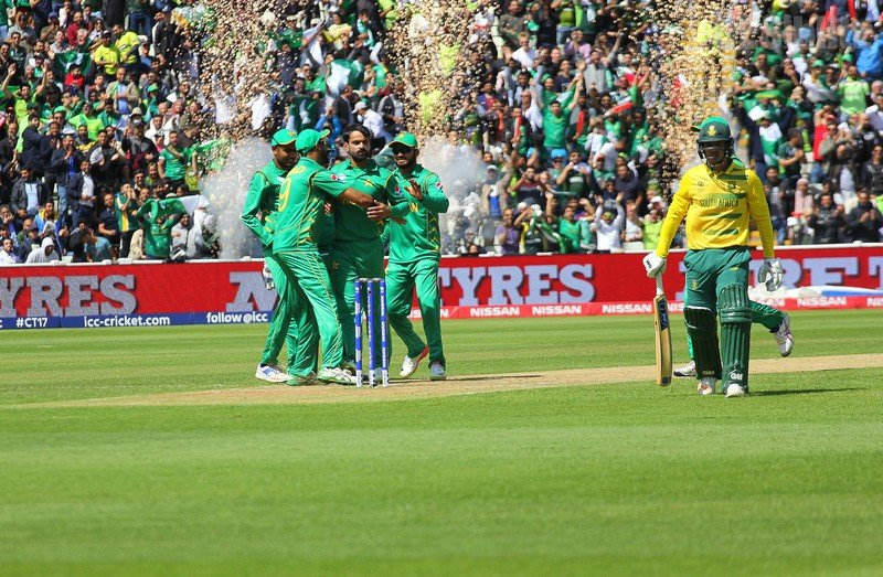 Pakistan sink South Africa in 2017 ICC Champions Trophy