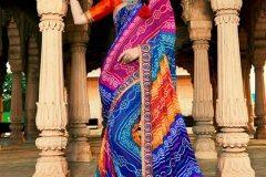 Stunning Bandhej Sarees to Give You a Royal Look