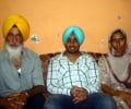 Satinder Sartaaj with his parents