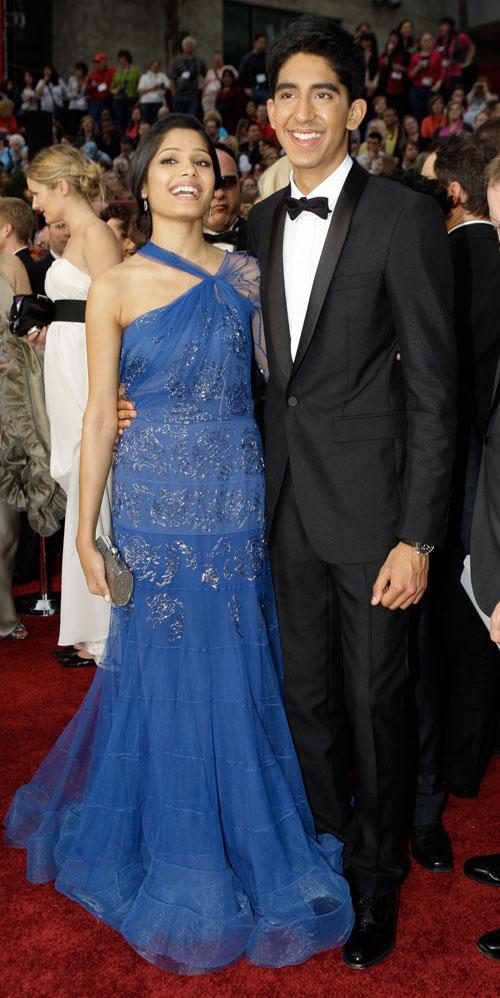 Dev, Freida @ Oscars 2009