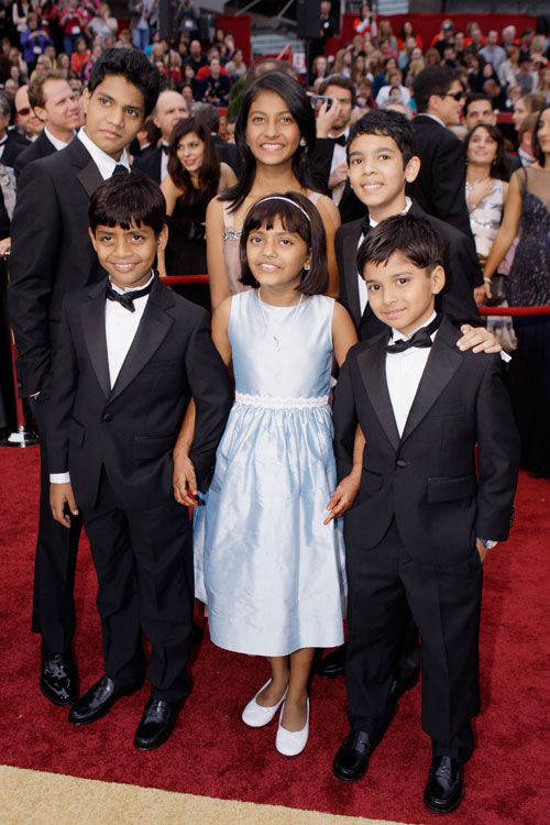 Slumdog Kids @ Oscars 2009